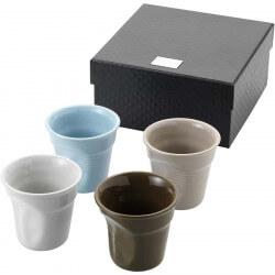 Set of 4 milano espresso cups
