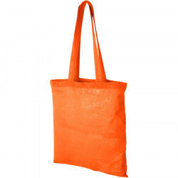 Madras cotton tote bag
