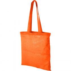 Sac shopping coton Carolina - Orange
