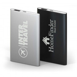 Business gifts and goodies 4000 mAh Deluxe Slim external battery