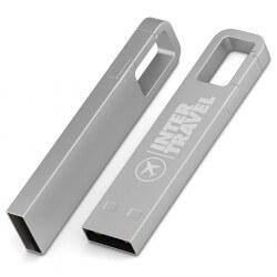 Clé USB Iron 2 Hook - Chrome