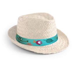 Chapeau de paille Zelio - Naturel