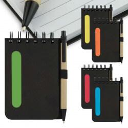 Bloc-notes et stylo  -