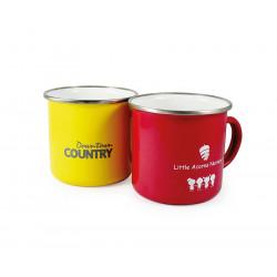 Enamel ColourCoat Mug - Pantone au choix