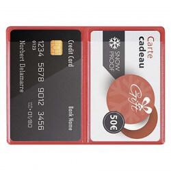 Étui carte de crédit -