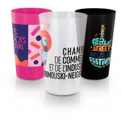 Reusable plastic cup 300 ml