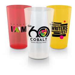 Reusable plastic cup 600 ml