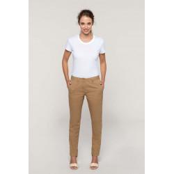 Pantalon chino femme -