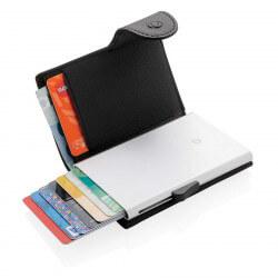 Porte-cartes portefeuille anti-RFID C-Secure -