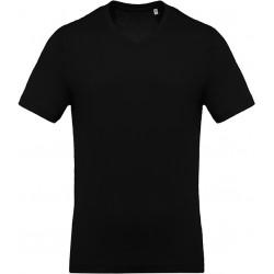 Tee-shirt col V manches...