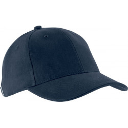 Casquette 6 pans - Bleu marine