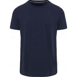 Tee-shirt vintage manches courtes homme - Bleu marine vintage