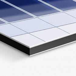Aluminium dibond blanc 4 mm