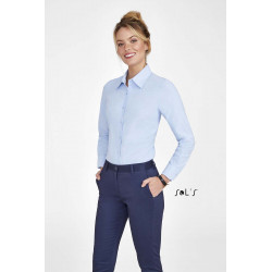 Chemise femme oxford manches longues Embassy -
