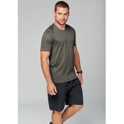Men's short sleeve sport...