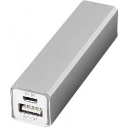 Batterie externe 2200 mAh Argent