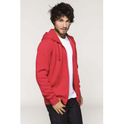 Sweat-shirt zippé homme -