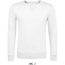 Sweat-shirt unisexe col rond - Blanc
