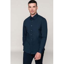 Chemise manches longues homme en coton -