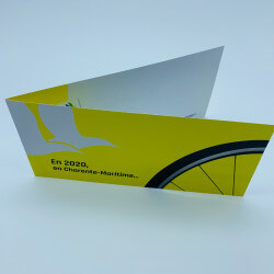 Economic greeting card...