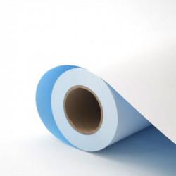 Affiche papier dos bleu