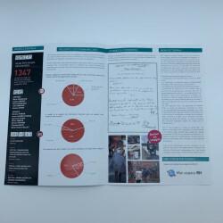 Brochure agrafée recyclée