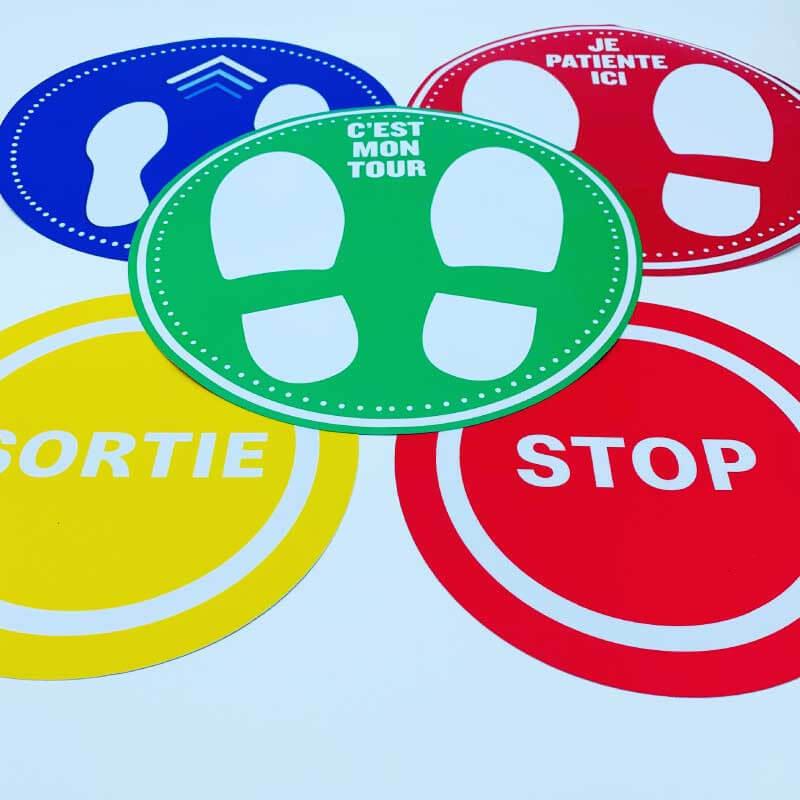 PORTE-OUV-002 PRIX SPÉCIAL NON MERCI Ref Autocollant Stickers Porte Paysage