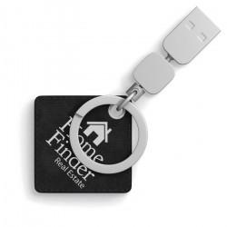 Porte-clé USB carré