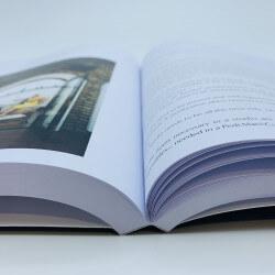 Square back brochure