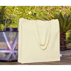 Organic cotton bag with...