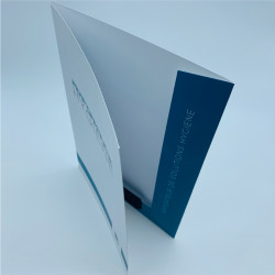 A4 Folder with flap +...