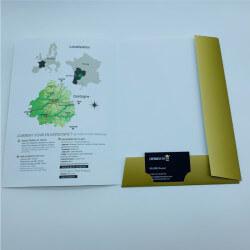 A4 presentation folder +...