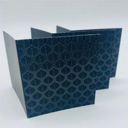 3D spot UV folded leaflet printing