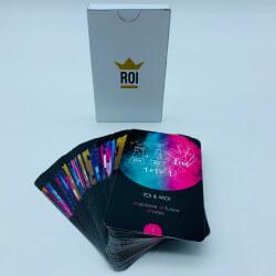 +/- 30 cards + classic cardBox