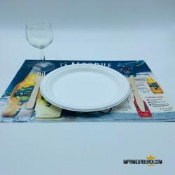 Set de table papier 100%...