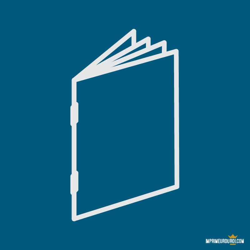 ad02bfbad144 Impression brochures agrafés 8 à 64 pages sur mesure