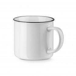 White Vernon Ceramic Mug 360ml
