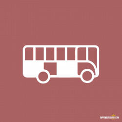 Affiche flanc de bus droit