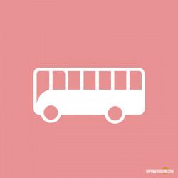 Affiche flanc de bus gauche