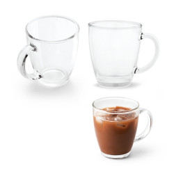 Glass Mug 390ml