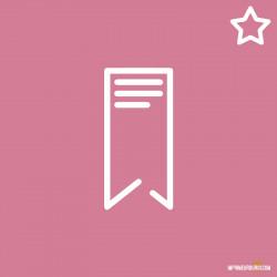 Marque-page offset premium
