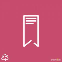 Marque page 100% recyclé