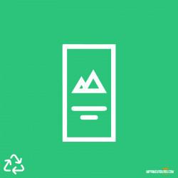 Flyer offset 100% recyclé...