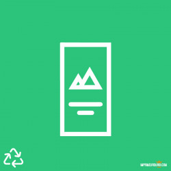 Flyer offset 100% recyclé