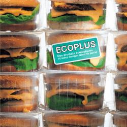 Etiquette Jac® Ecoplus pour emballage alimentaire.