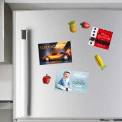 Advertising magnet