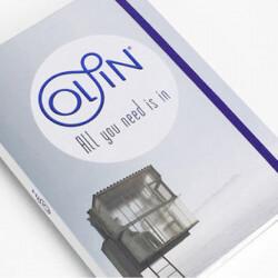 Livre papier Olin Regular &...