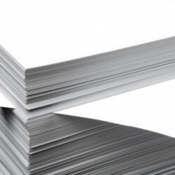Uncoated paper ream