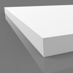 10 mm white foamex