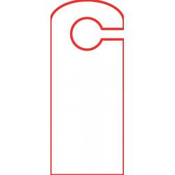 Door hangers 10.5 x 25 cm